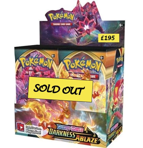Sealed Product Prices Sold Out Booster