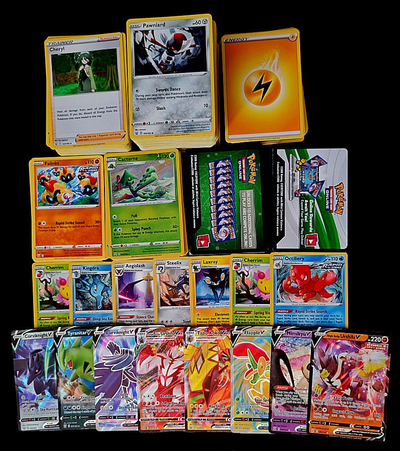 Battle Styles Booster Box Contents