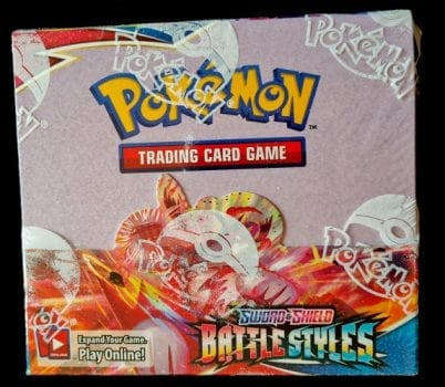 Battle Styles sealed Booster Box