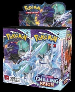Chilling Reign Booster Box artwork