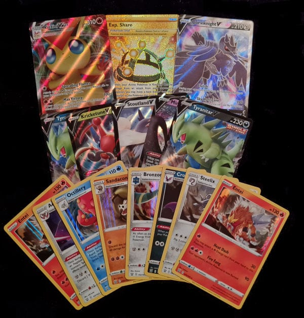 Battle Styles Booster Box Cards