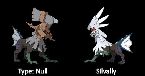 Type Null and Silvally