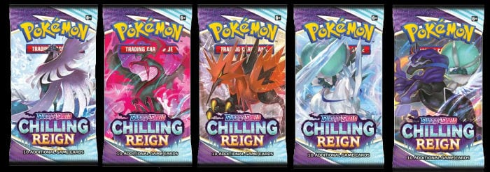 Booster Packs Chilling Reign