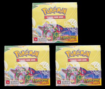 Evolving Skies Booster Boxes