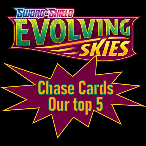 Evolving Skies Chase Cards