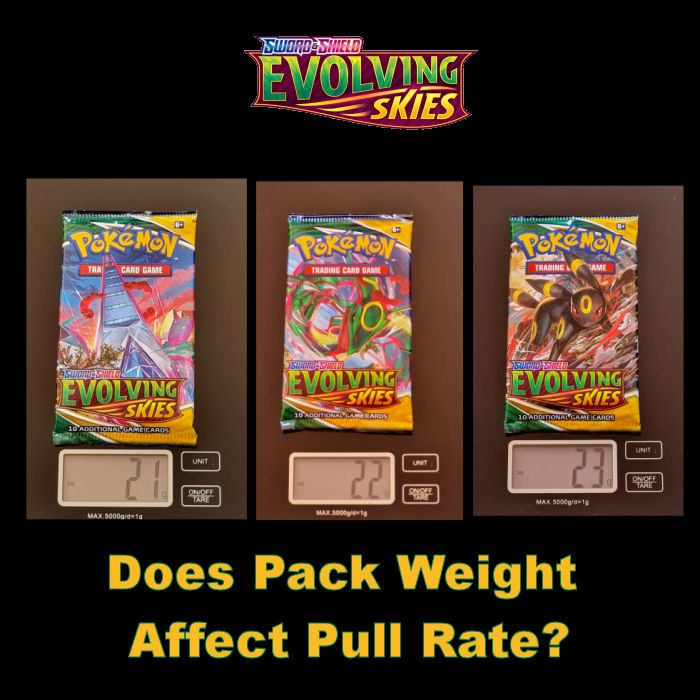 Evolving Skies Pack Weight