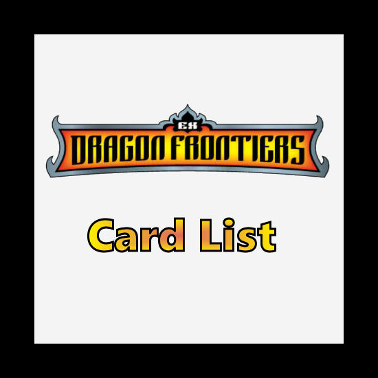 Dragon Frontiers Card List