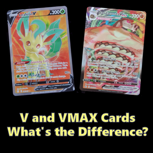 V and VMAX Cards